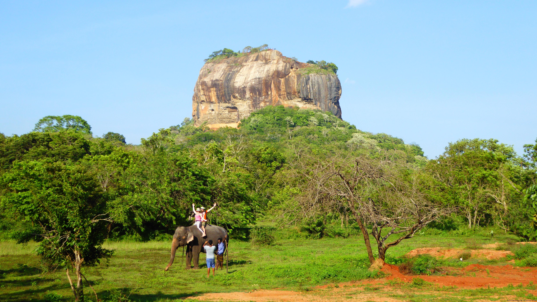 Sri Lanka -Felsenfestung Sigiriya diekreuzfahrtblogger.de