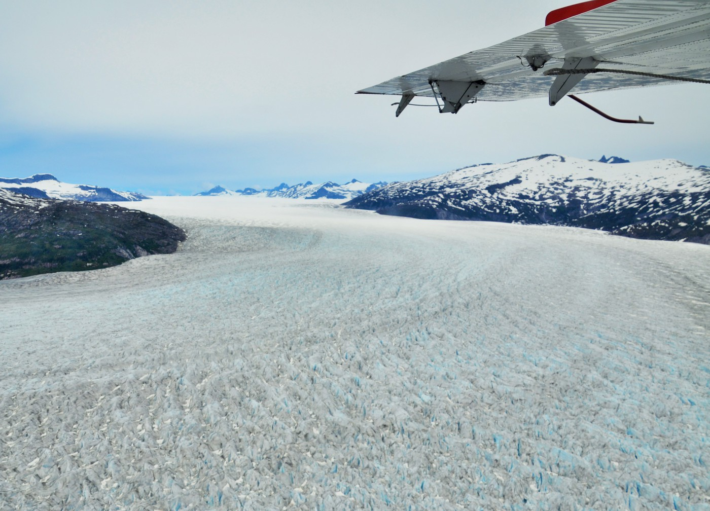 Juneau Eisfeld Alaska