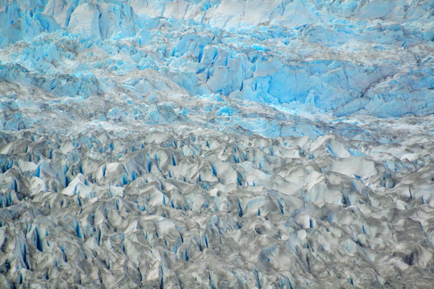 Juneau-Flug über den Gletscher