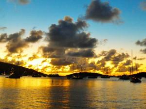 Virgin Gorda, Bucht des Bitter End Yachtclubs