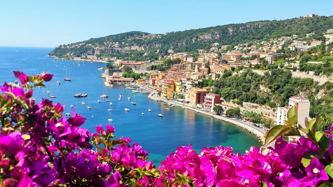 Die Coet Azur zwischen Nizza jund Monaco