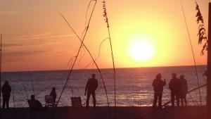 Sundown auf Sanibel