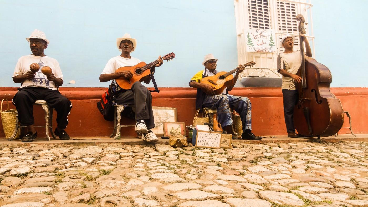 In Trinidads Straßen wird an jeder Ecke musiziert