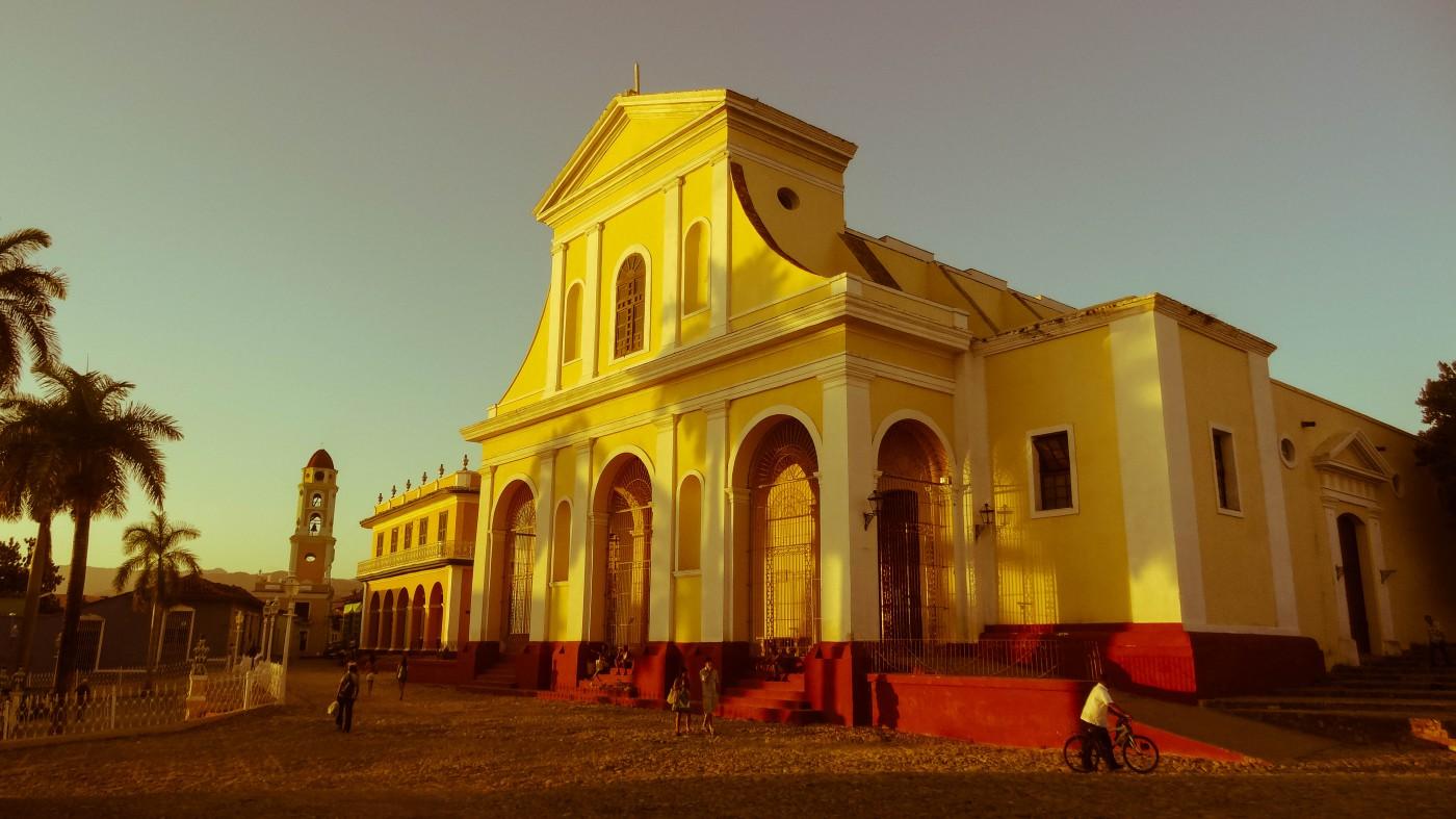 Die Kathedrale von Trinidad an der Plaza Mayor