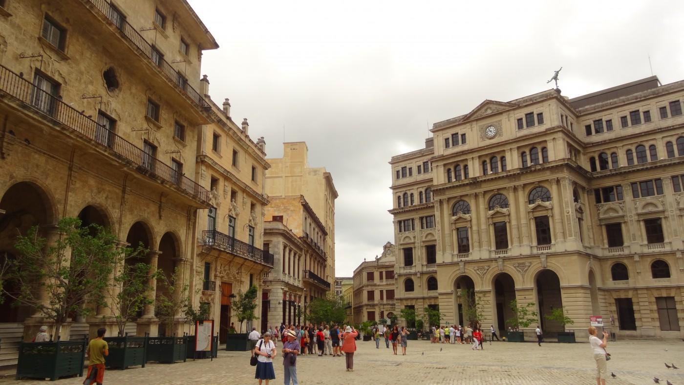Plaza de Armas in Havanna, Kuba