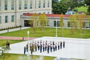 Appell in der Naval Academy