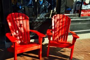 Typisch für die Ostküste der USA: Der Adirondeck Chair