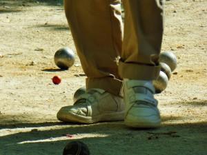 Petanque ist ein Volkssport in der Provence