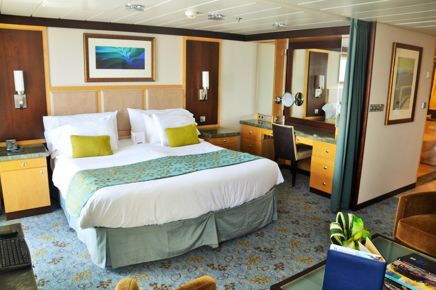 Junior Suite der Allure, baugleich mit der Oasis of the Seas