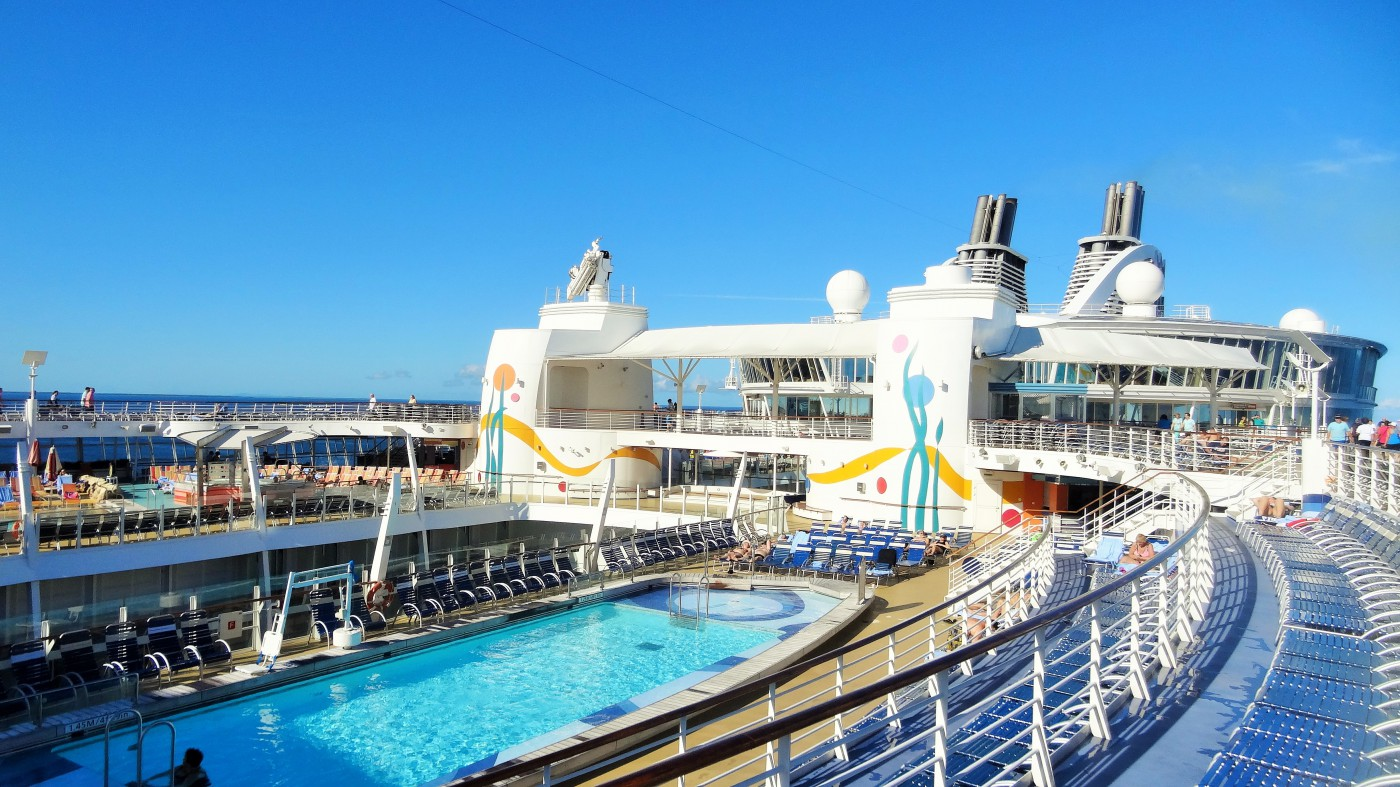 Allure of the Seas Pooldeck