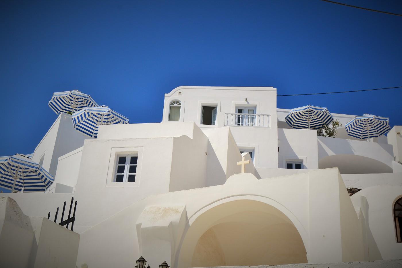 Santorini Architektur Copyright S. Schaeffer