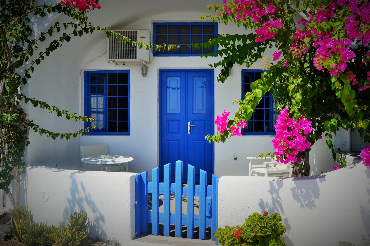 Santorini Architektur Haus Copyright Susanne Schaeffer