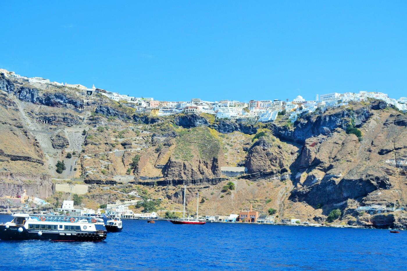 Santorini Blick auf Fira Copyright S. Schaeffer