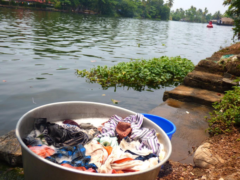 Alleppey in den Backwaters