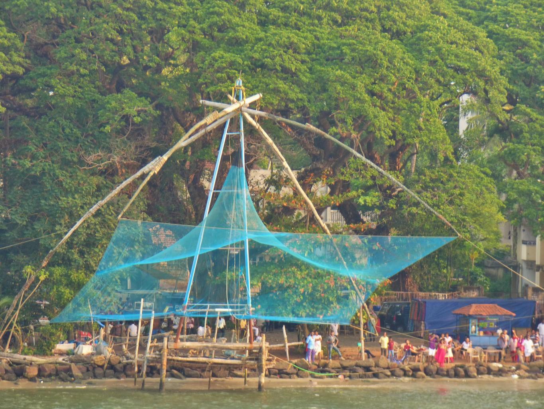 Cochin und seine Fischernetze