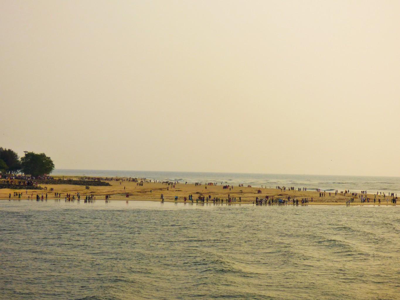 Einlauf in Cochin