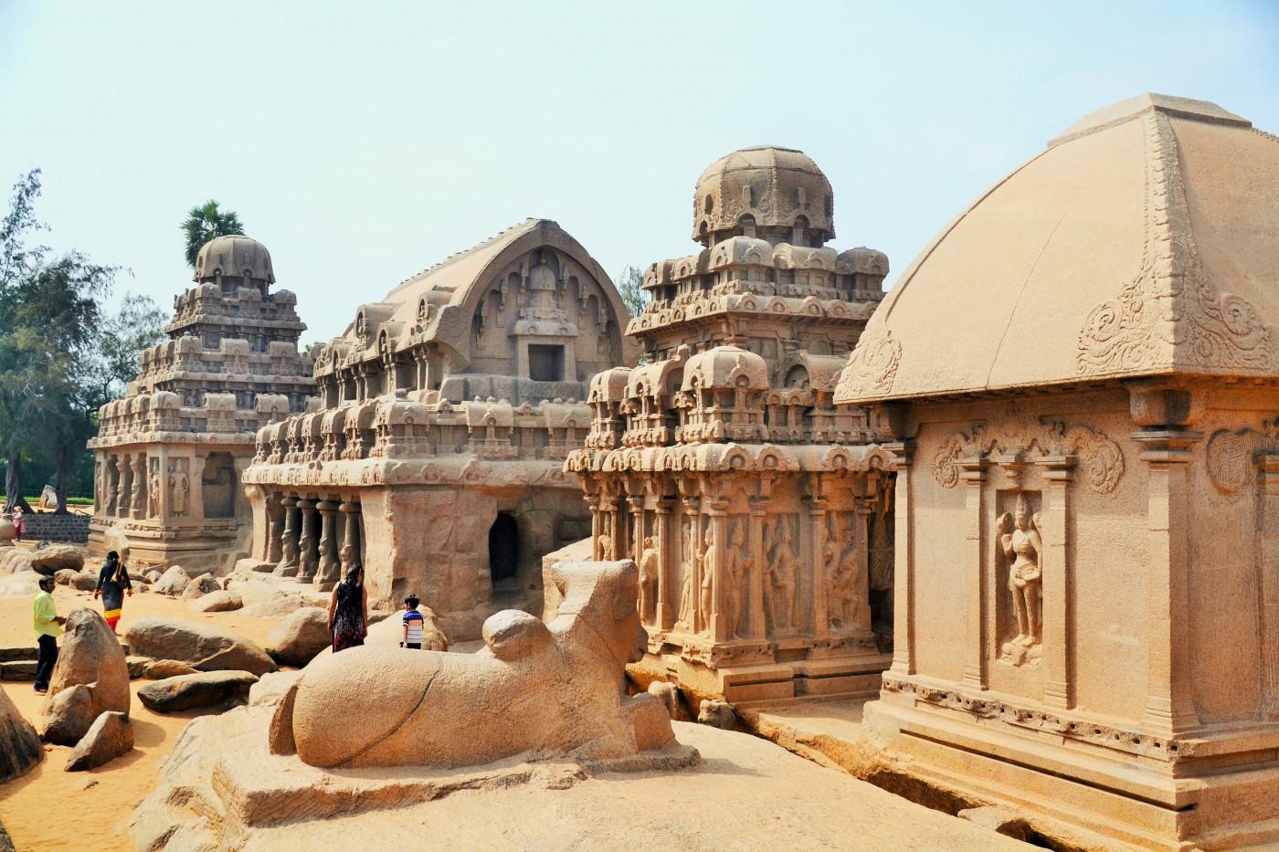 Mahalabipuram Fünf Rathas