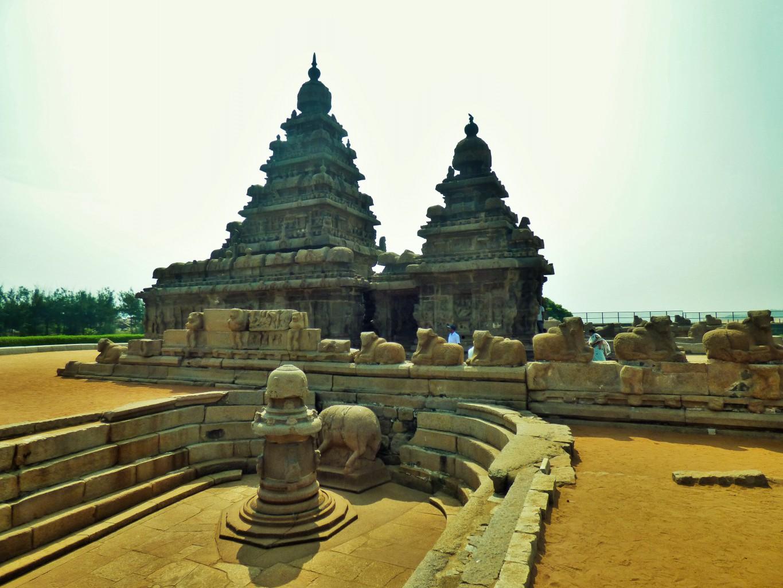 Ort der Verehrung: Der Strandtempel in Mahalabipuram