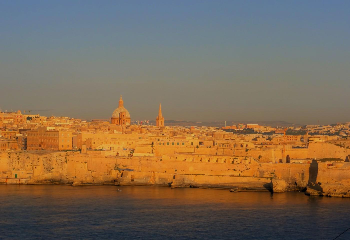 La Valleta Hafen von Malta