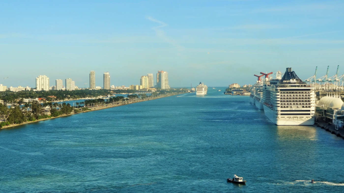 Miami NCL Getaway Auslauf Copyright Schaeffer
