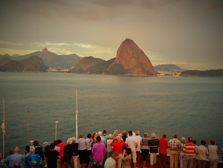 Rio de Janeiro Einfahrt Copyrigth S. Schaeffer