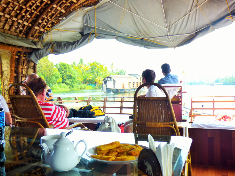 Hausboote in Backwaters