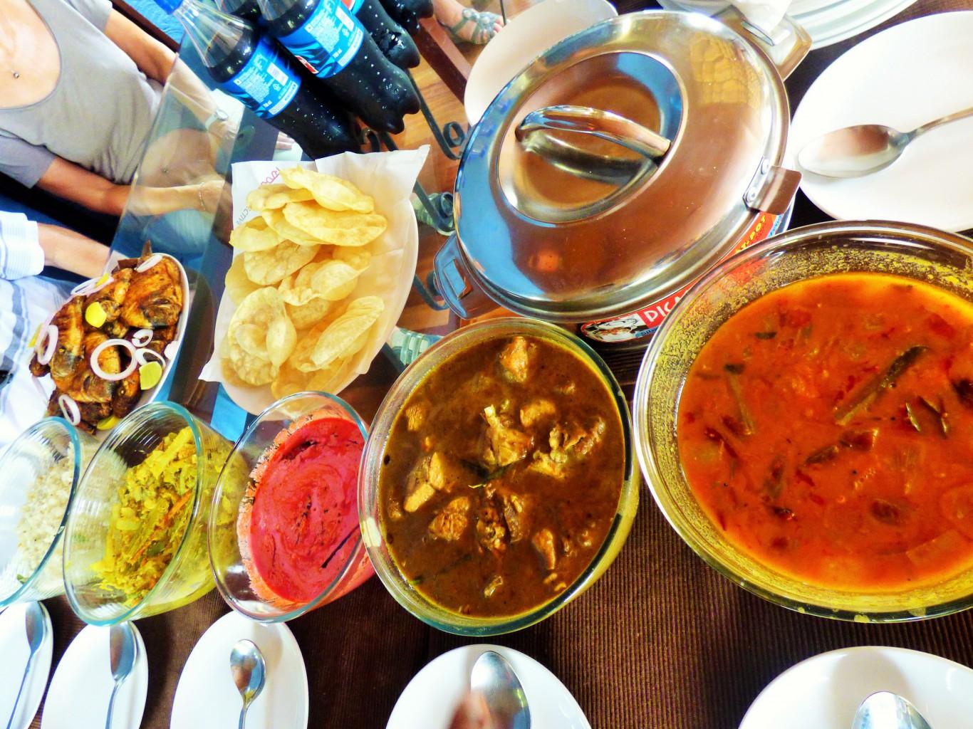 Inklusive: ein indischer Lunch