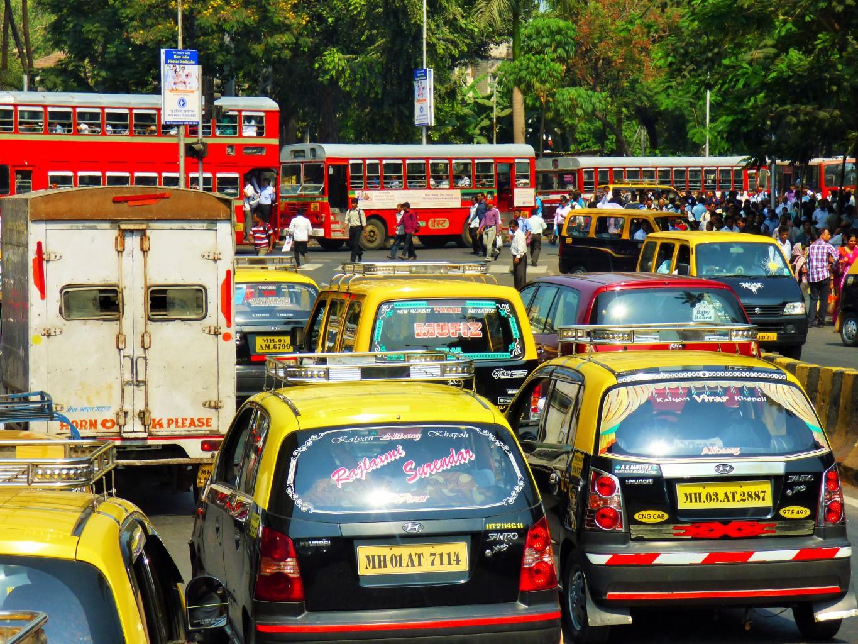 Mumbai Verkehrsinfarkt