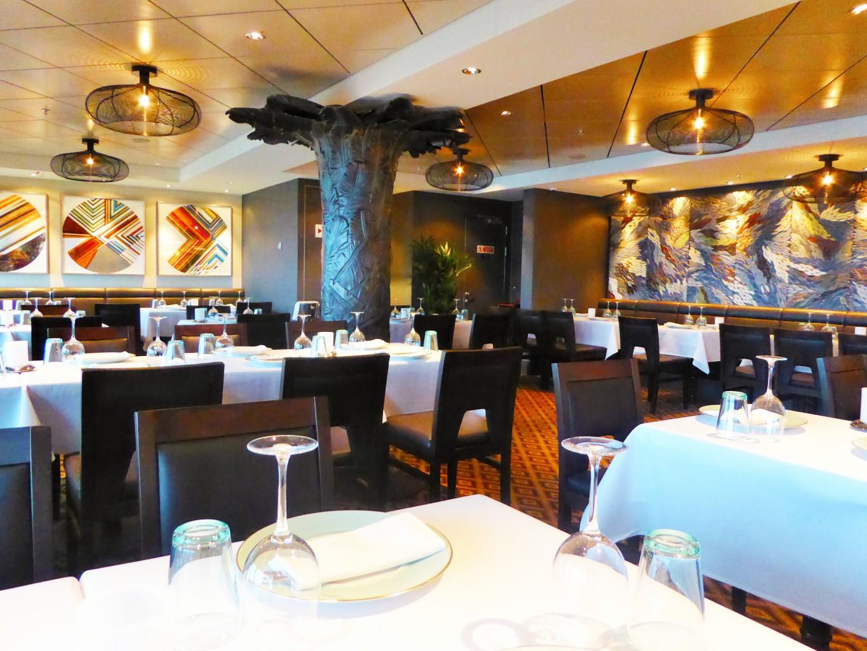 Das Bayamo, eines der neuen Spezialitäten-Restaurants der Norwegian Escape