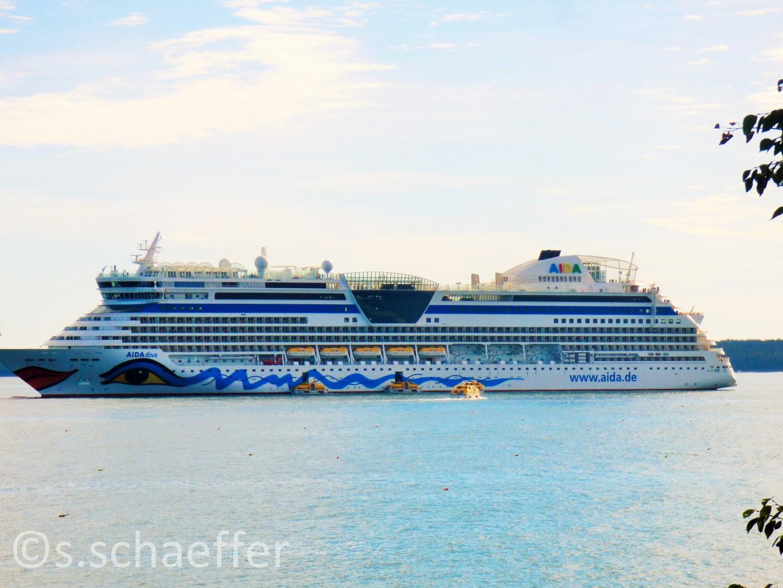 Aida Cruises. AidaDiva