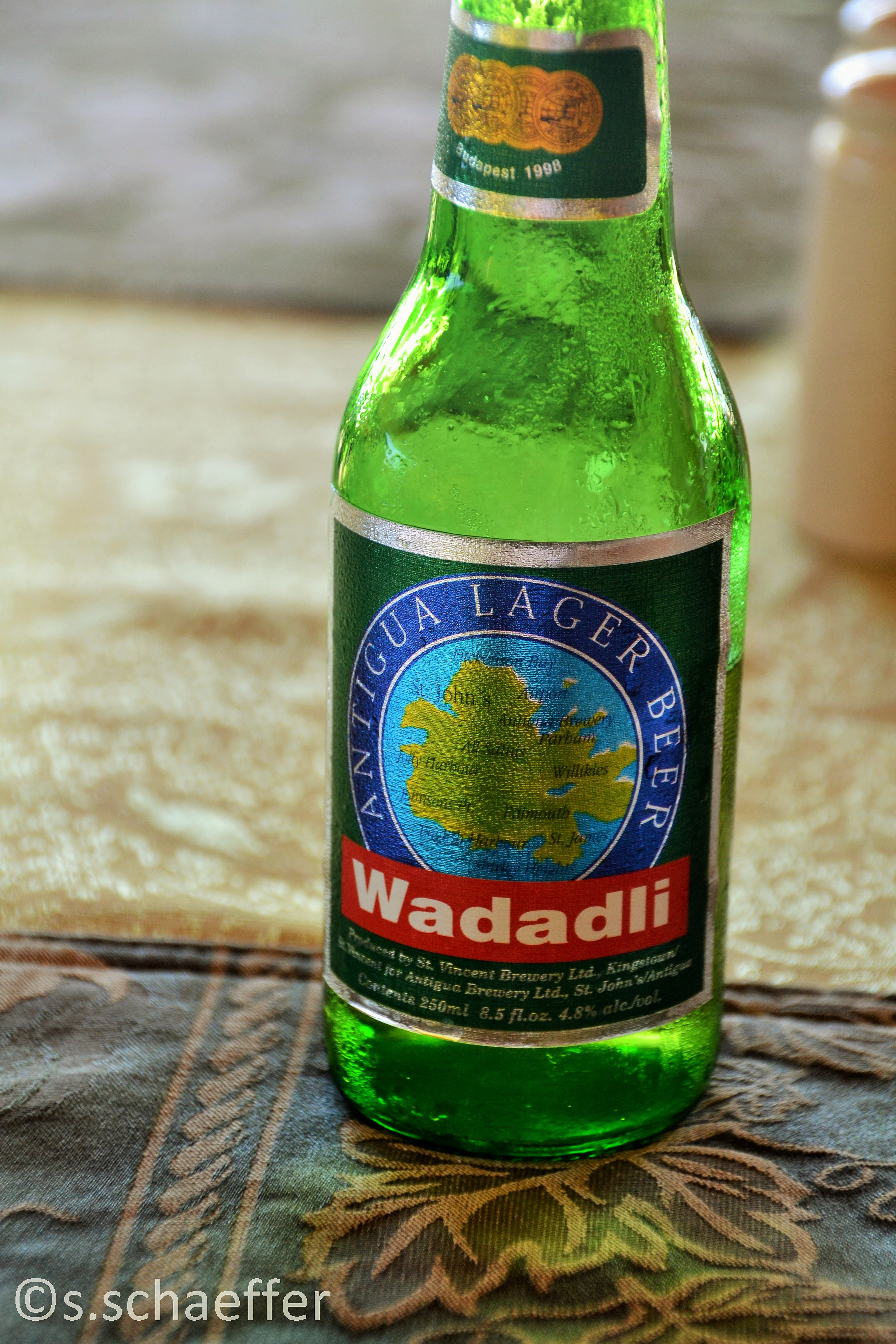 Antigua. Local Beer