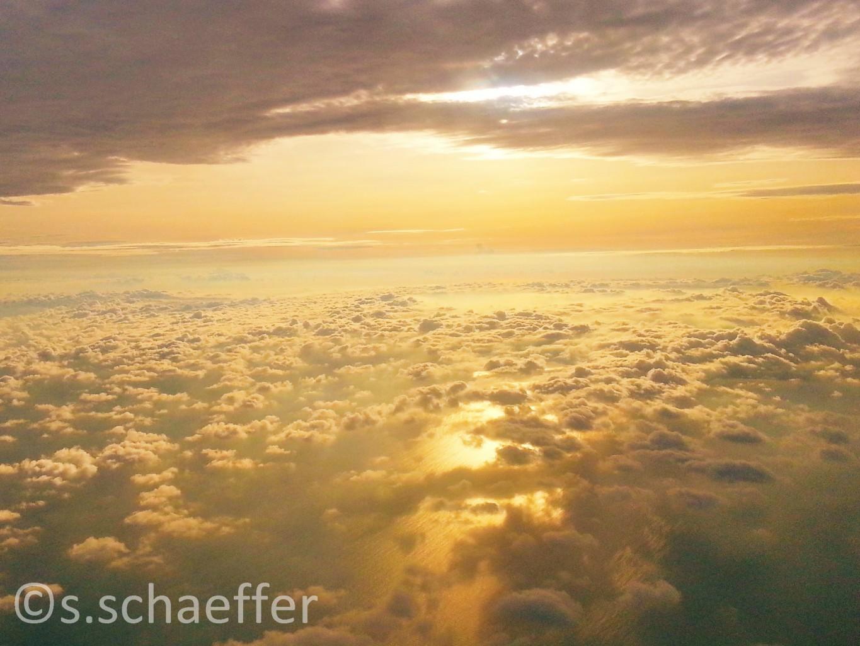 Über den Wolken Himmel