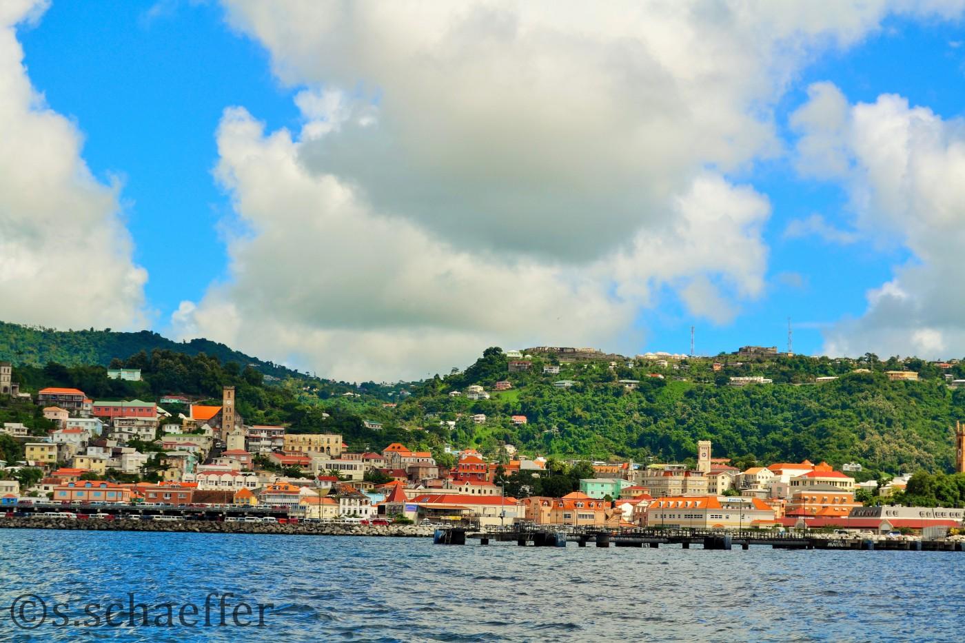 Grenada Hafen von St. George ©s.schaeffer