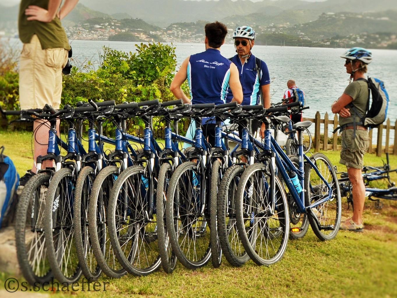 Biking auf Landgängen wird während Kreuzfahrten immer beliebter