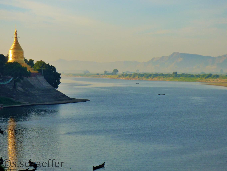 Irrawaddy Bagan Myanmar