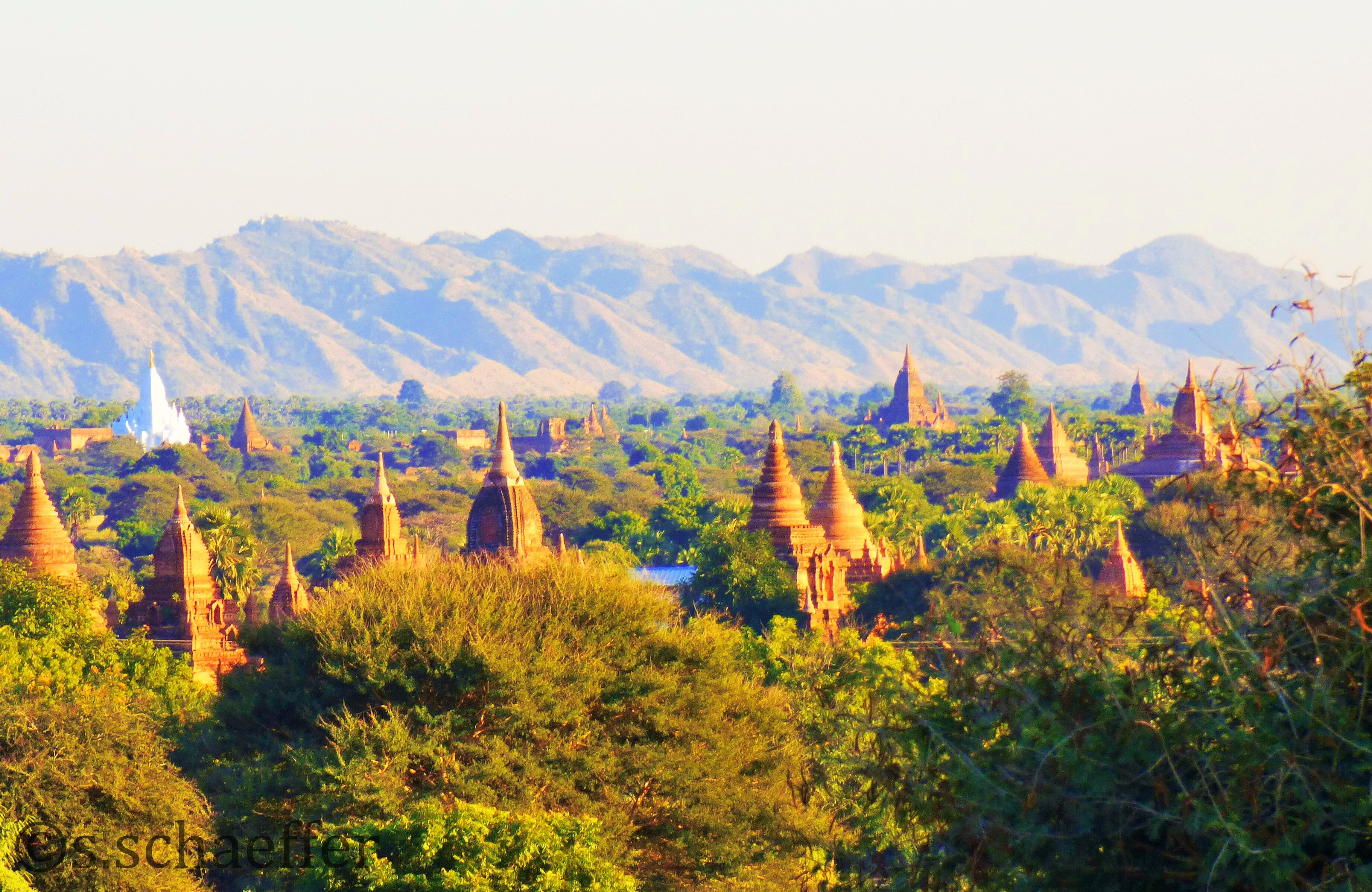 Bagan, Tempelebene
