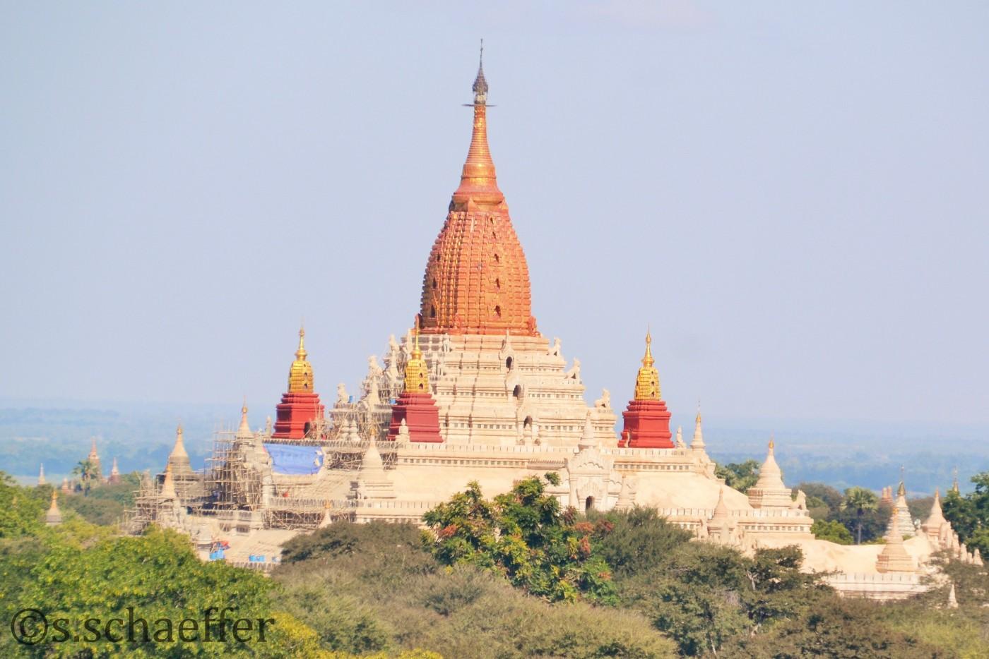 Myanmar Bagan Tempelanlage ©s.schaeffer