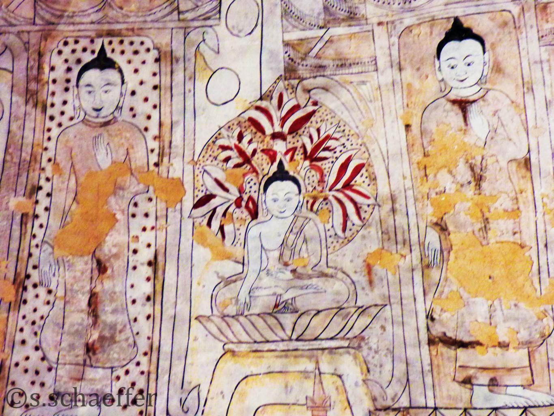 Sulamani Tempel Bagan, Mynamar