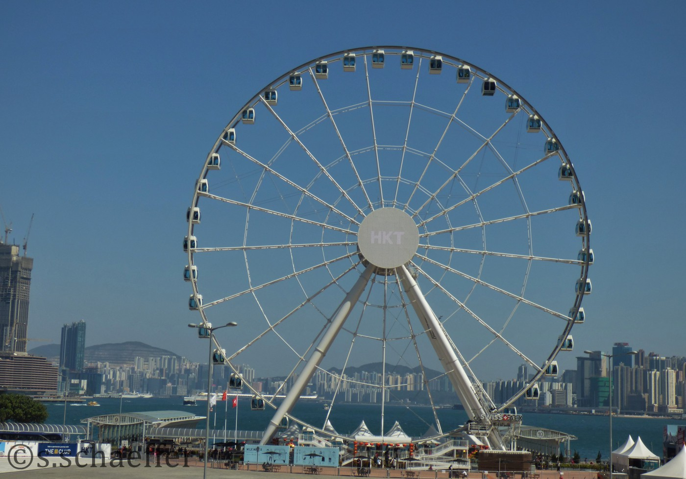 Hafenfront von Hongkong