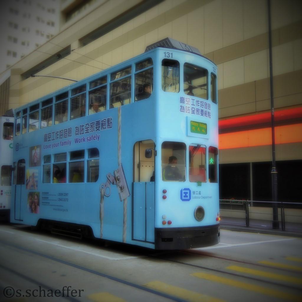 Die alte Straßenbahn in Central