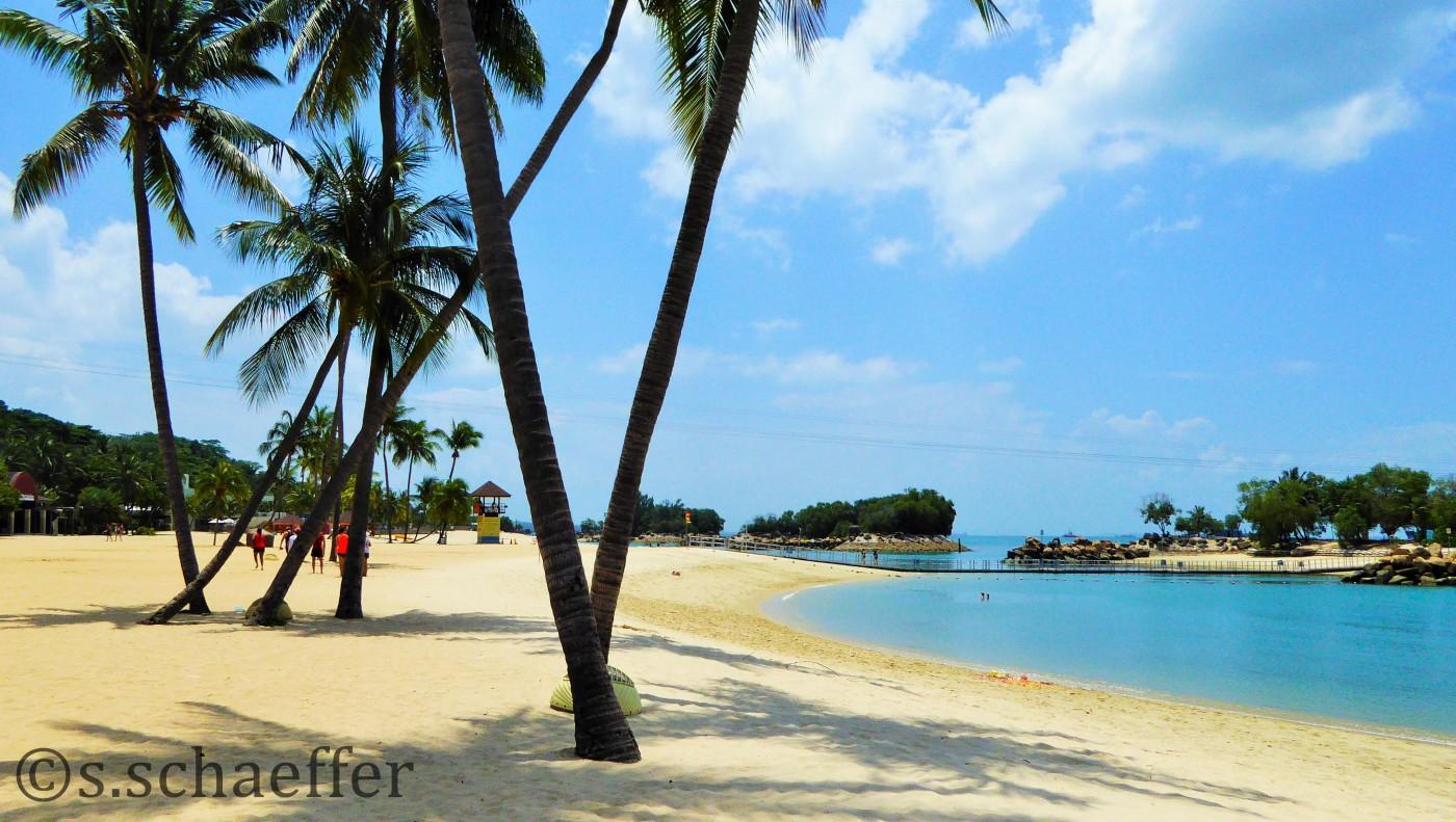 Sentosa Island Beach Singapur ©s.schaeffer