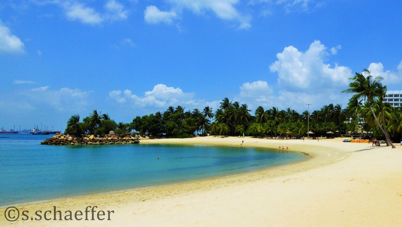 Sentosa Island Silosa Beach Singapur ©s.schaeffer