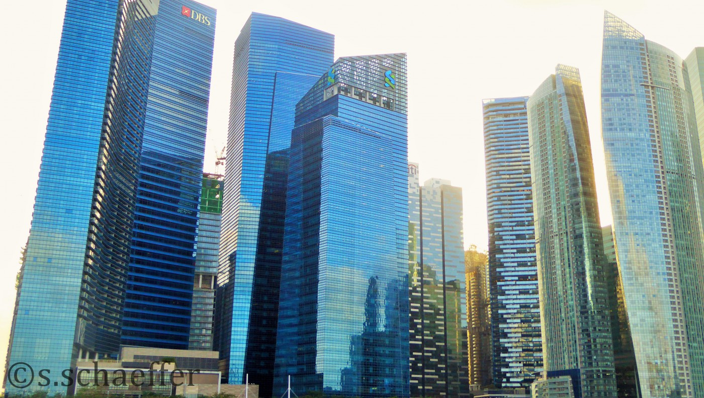 Skyline Business District Singapur Zentrum ©s.schaeffer