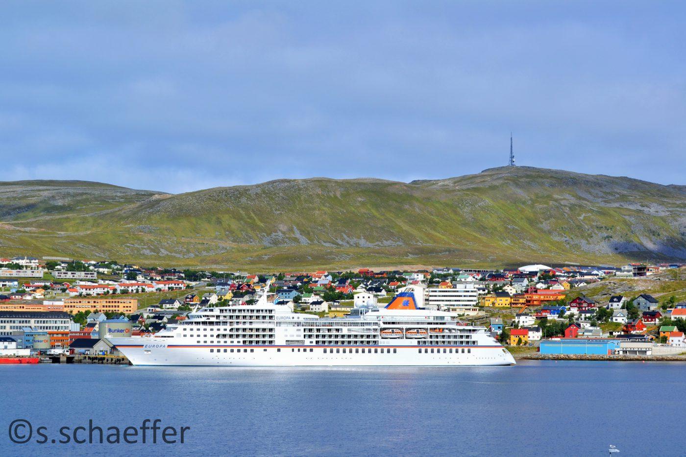 Das 5 Sterne-Schiff macht in Norwegen Station